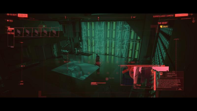 Cyberpunk 2077 HUD example 2020