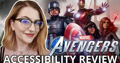 Marvel's Avengers (Beta) Cognitive Accessibility Impressions