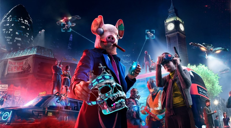 Watch Dogs Legion Key Art