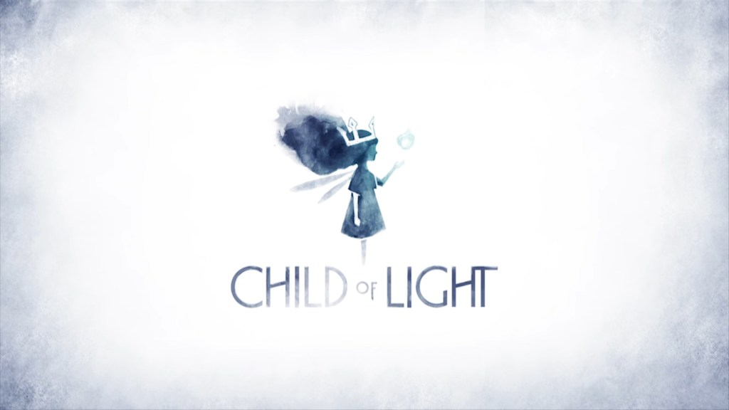 Child of Light logo and text