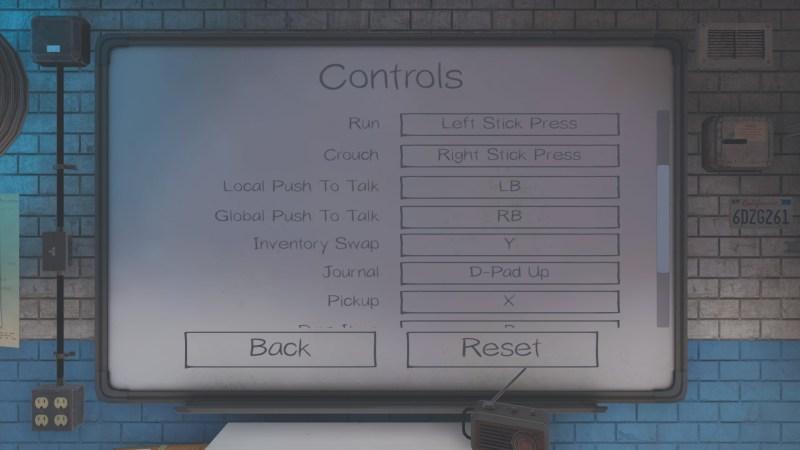 Phasmophobia gamepad controls