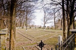 Widok ogóny na cmentarz od strony północno-zachodniej