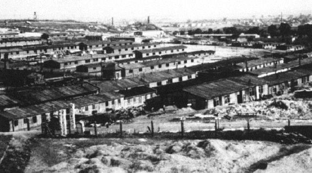 Widok obozu Płaszów w 1942 roku