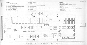 Plan obozu pracy w Szebniach
