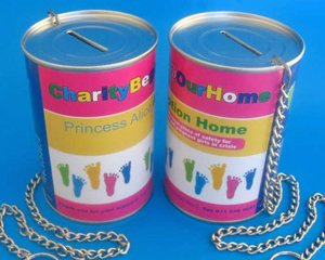 charity cans