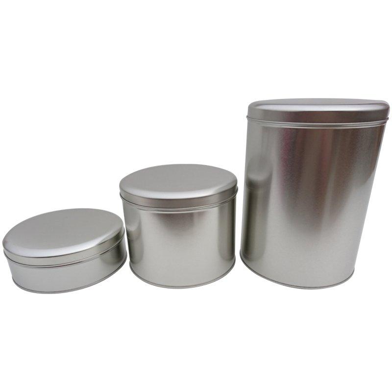 Plain Round Tins