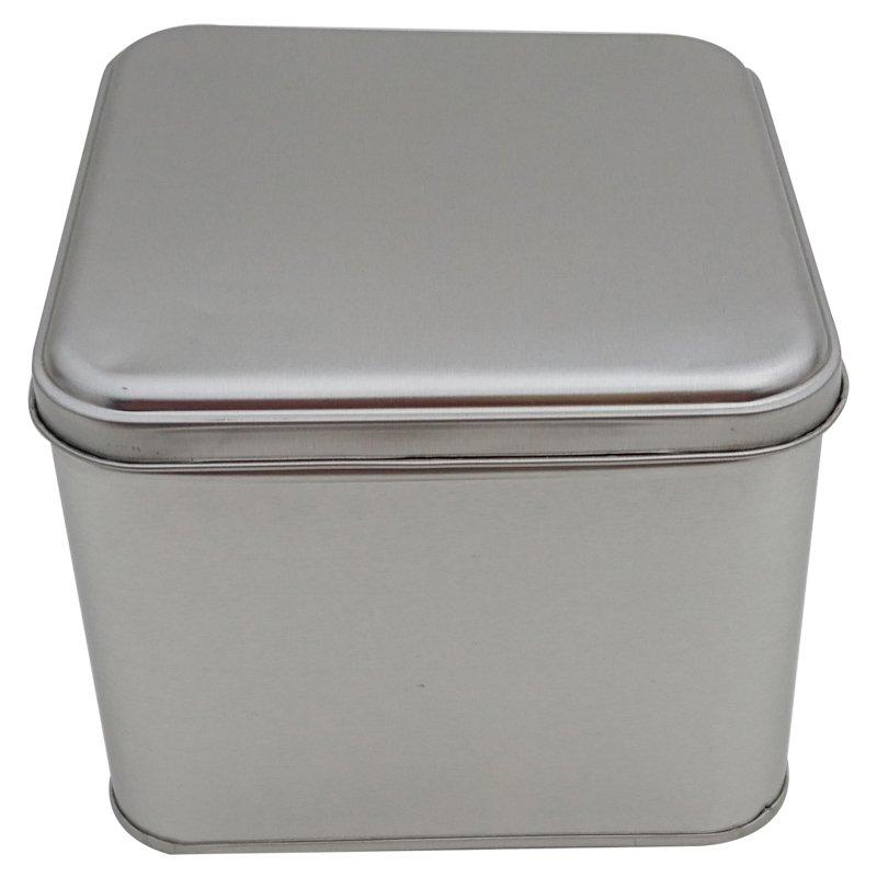 Cr25L 166x166x100 Square Tin Box