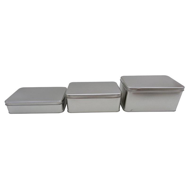 Plain Rectangular Tins