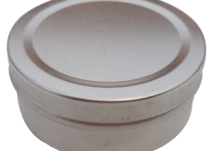 Cr3 67x26 75g Small Metal Round Tin