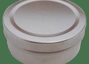 Cr3 67x26 75g Small Metal Round Tin