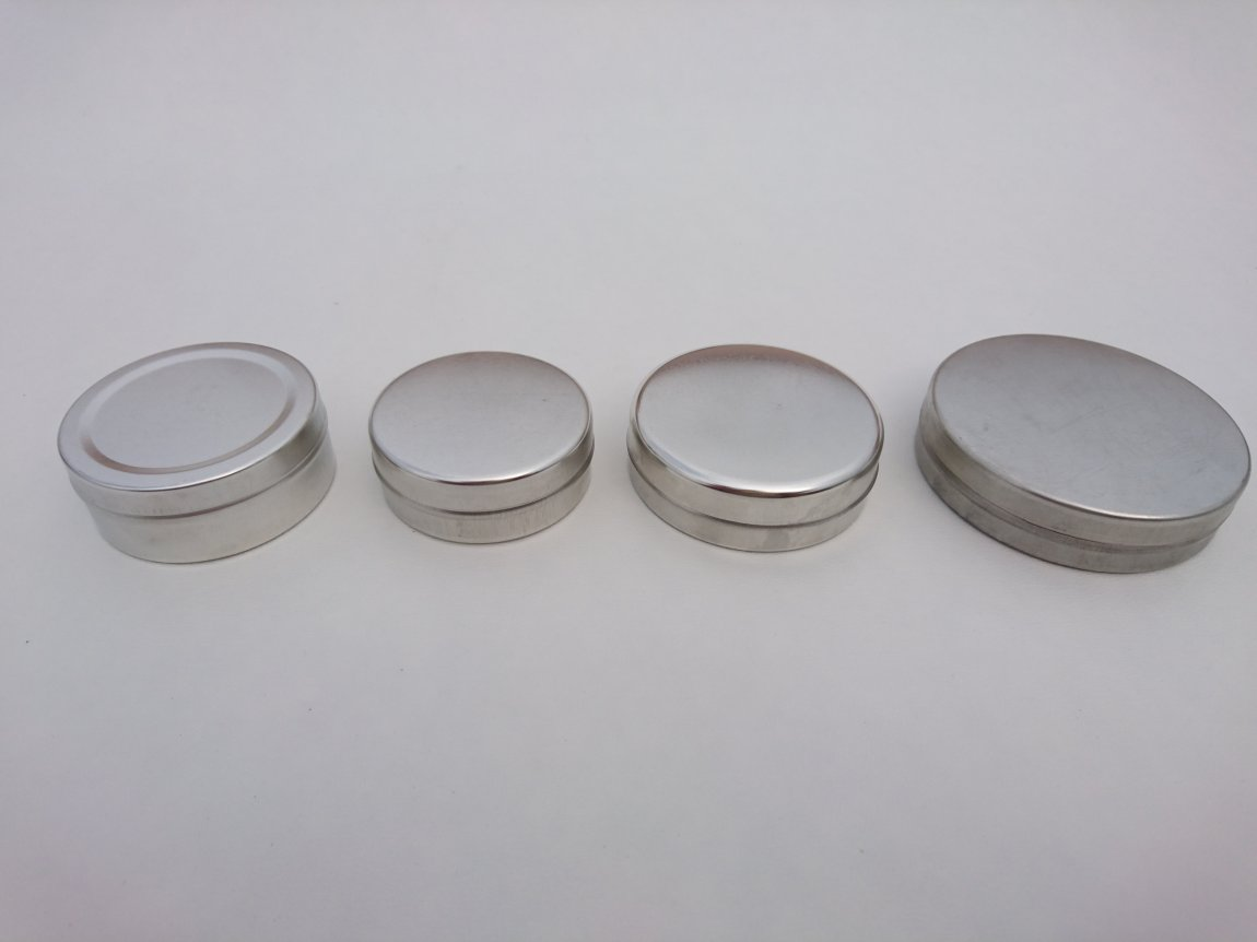 Metal Ointment Tins
