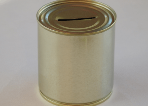 metal tin charity boxes