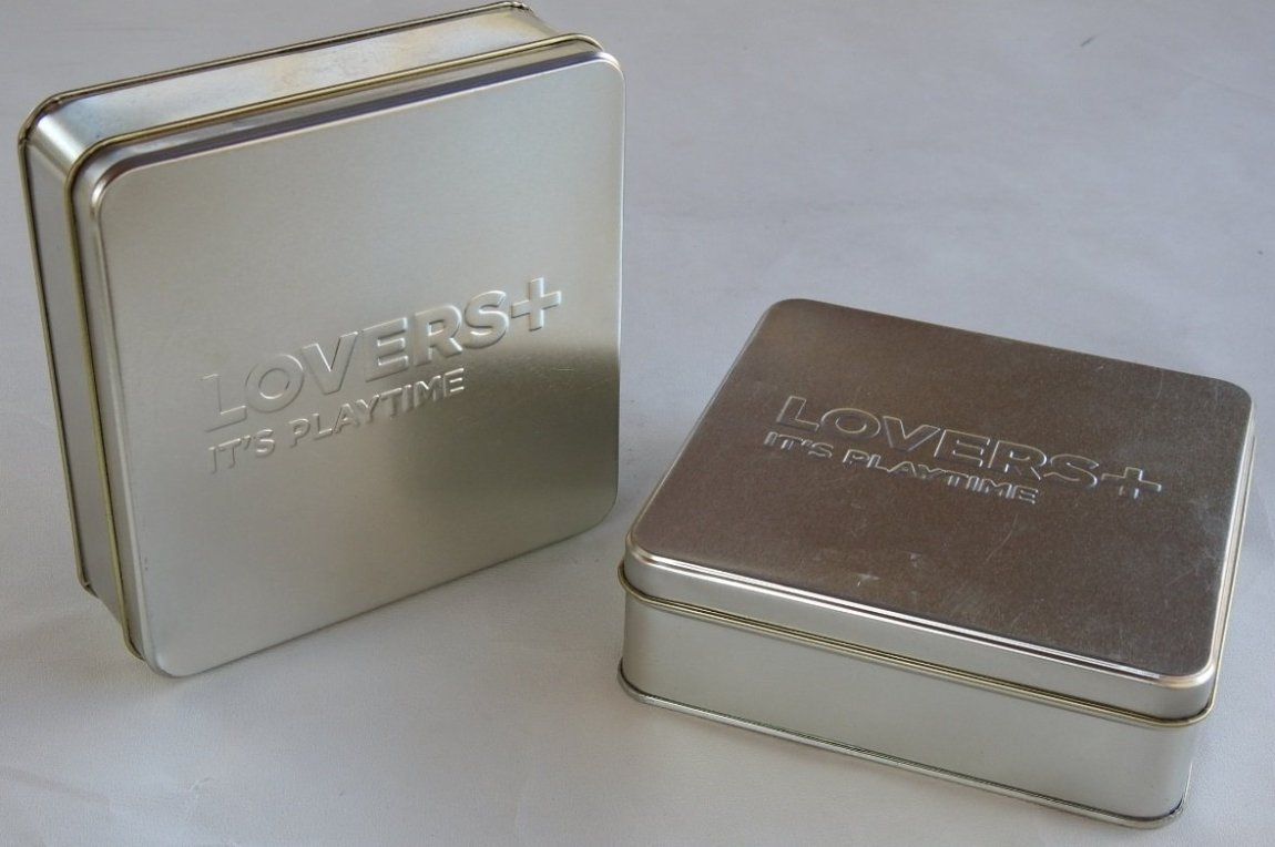 Lovers+ Condom Tin Boxes