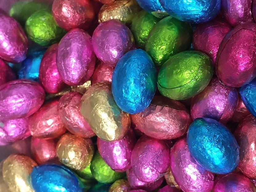 Custom Branded Chocolate Easter Eggs