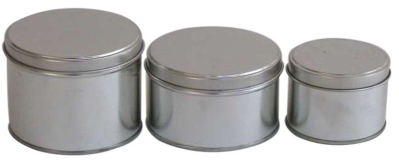 Round Tins