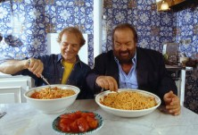 TERENCE HILL AND BUD SPENCER IN ROME Terence Hill und Bud Spencer