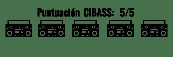 CIBASS Puntuación CIBASS Cinco puntos