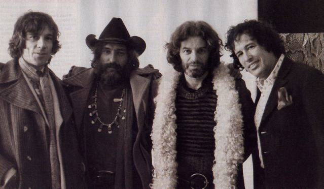 Pura contracultura: Donald Cammell, Dennis Hopper, Alejandro Jodorowsky y Kenneth Anger en Londres, 1971