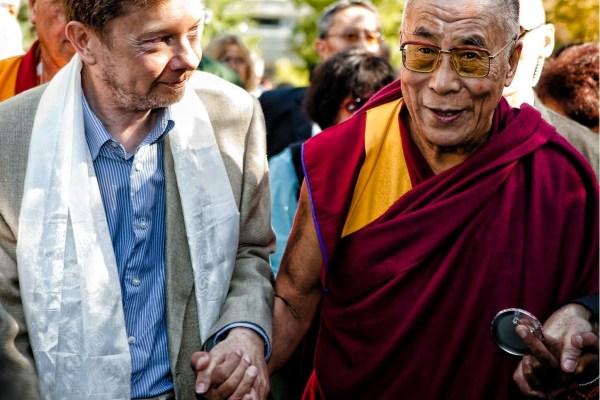 CIBASS Eckhart Tolle con el Dalai Lama