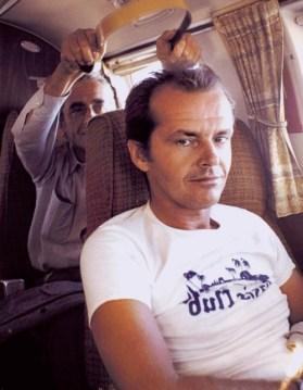 CIBASS Michelangelo Antonioni and Jack Nicholson en el set de the passenger