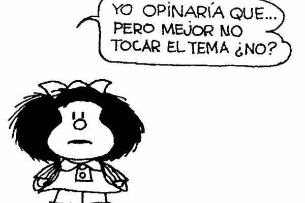 CIBASS Mafalda y su opinión