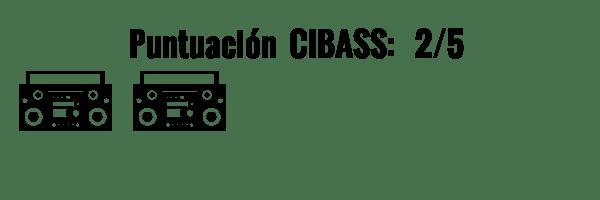 CIBASS Puntuación CIBASS Dos puntos