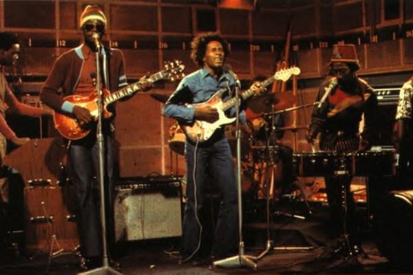 CIBASS The Wailers tocando en estudio