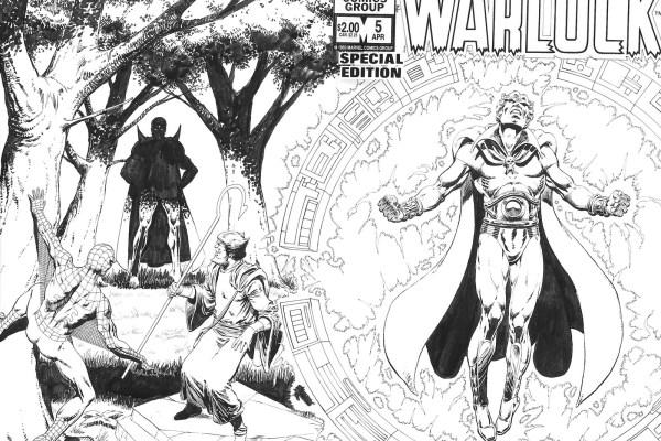 CIBASS Warlock Special Edition número cinco de 1983