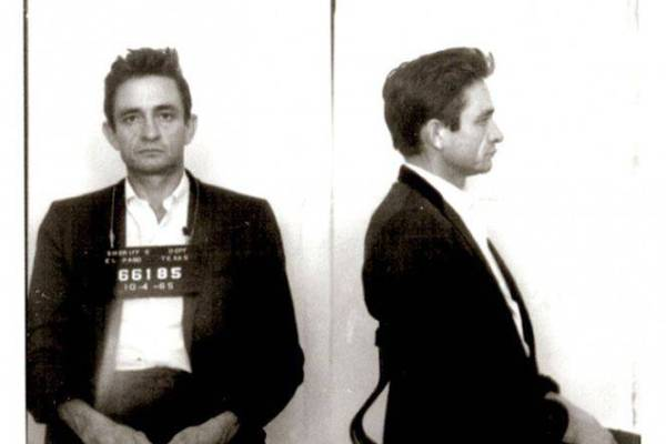 CIBASS Johnny Cash mugshot - ficha policial