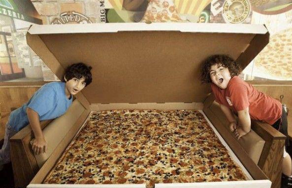 CIBASS Una de las pizzas más grandes del mundo