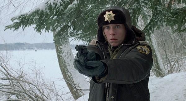 CIBASS Frances McDormand en Fargo de los Coen