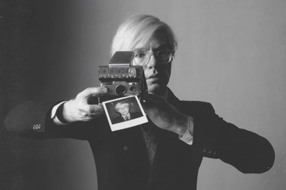 Andy Warhol y su polaroid