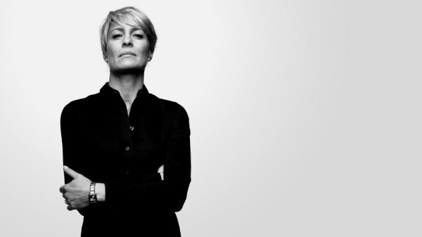 Robin Wright como Claire Underwood