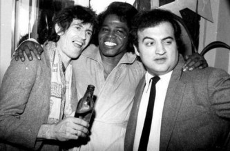 CIBASS Keith Richards John Belushi y James Brown