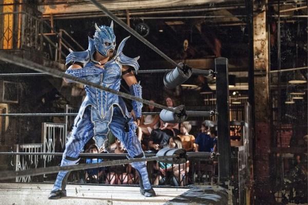 CIBASS Lucha Underground Luchador