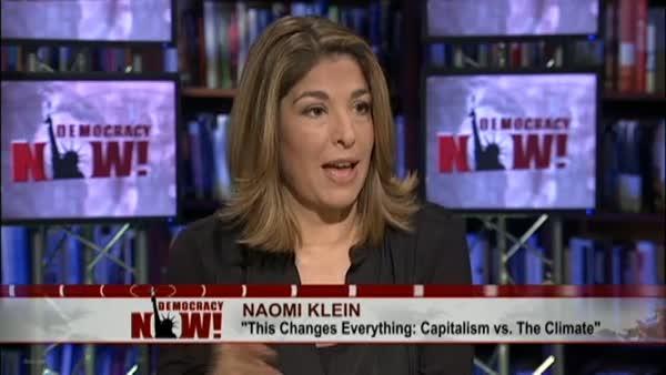 CIBASS Naomi Klein en televisión