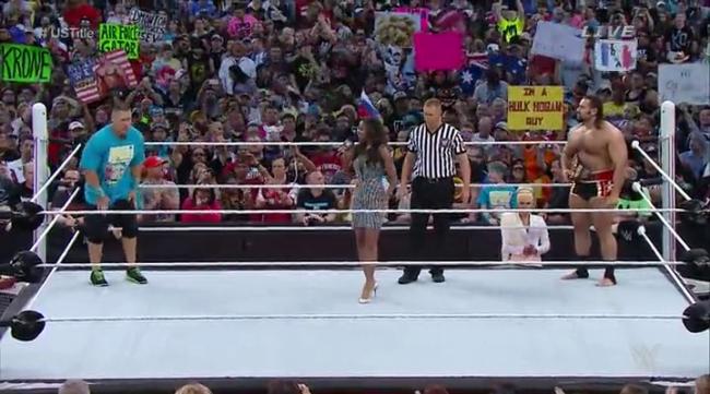 CIBASS WrestleMania 31 combate importante
