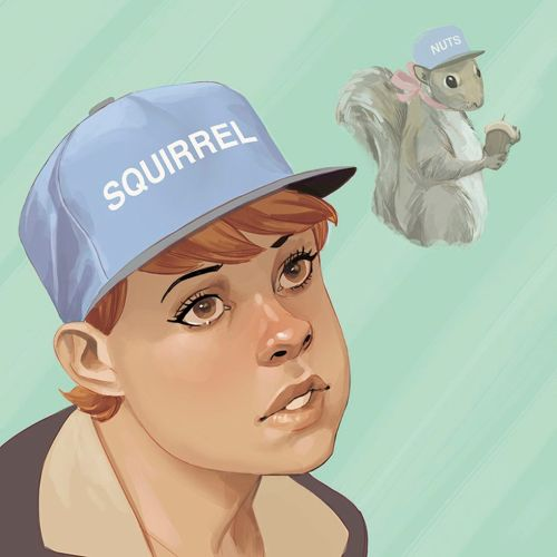 CIBASS The squirrel Girl