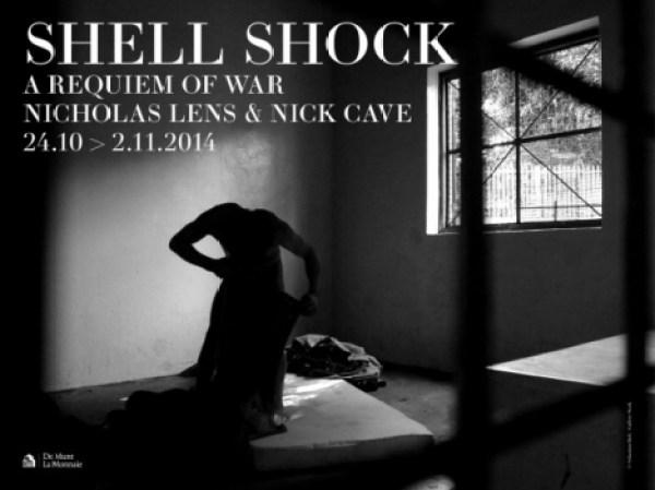 Cartel de Shell Shock, de Nicholas Lens y Nick Cave