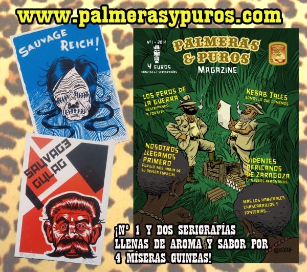 CIBASS Palmeras y Puros publicidad