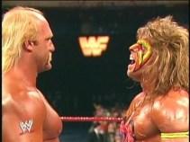 CIBASS hulk hogan vs the ultimate warrior