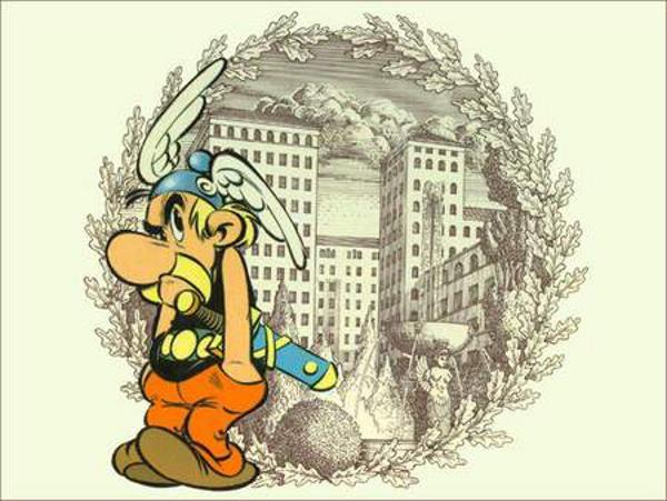 CIBASS Asterix la residencia de los dioses uno