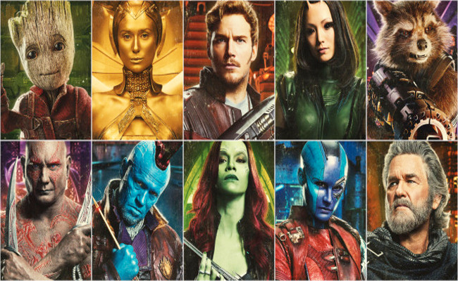 CIBASS Guardians of the Galaxy 2 Cast