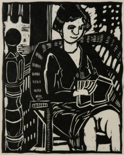 Relief print by Clara Deike