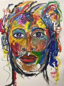 Utter-Anna Arnold, New work in progress at studio 2015