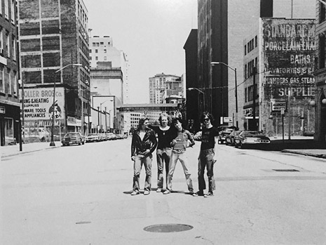 The Dead Boys on Prospect. Photo by Dave Treat, courtesy of the artist and Dangerous Minds.