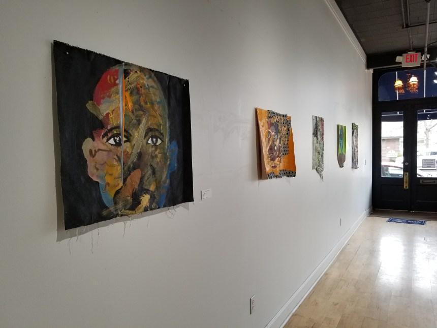 Works of Khehla Chepape Makgato, installation view at Harris Stanton Gallery, Cleveland