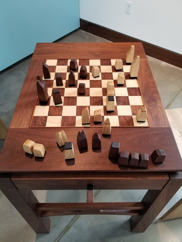Chess Set by Freddy Hill