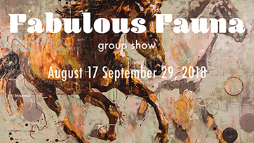 Fabulous Fauna - group show - OPENING RECEPTION