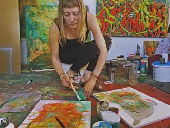 Artist Talk/Demo with Lila Rose Kole in Bay Village
